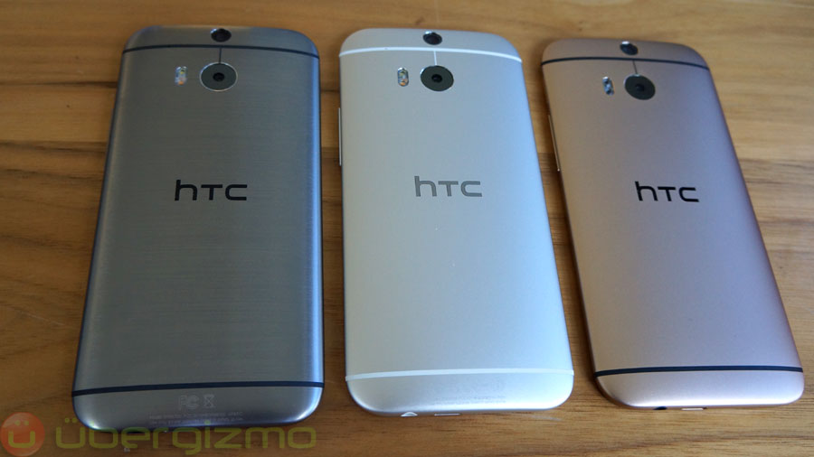 HTC One M8: Hands-On Preview   Ubergizmo