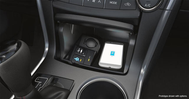 2015 toyota camry to feature wireless charging option ubergizmo. Black Bedroom Furniture Sets. Home Design Ideas