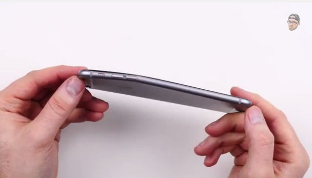 Iphone 6 plus bending problem