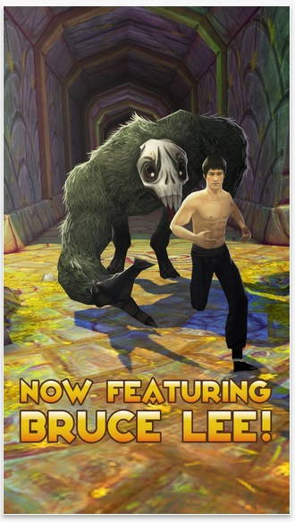 Temple Run 2 Updated With Bruce Lee Character | Ubergizmo