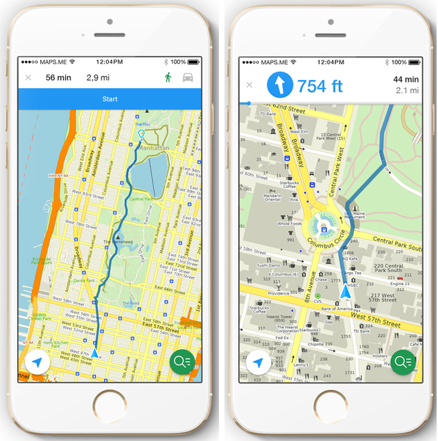 MAPSME Crowd Sourced Mobile Map App Launches Walking Directions