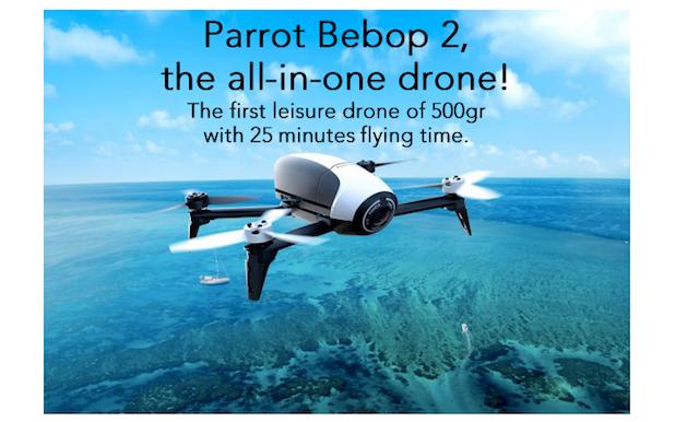 avis drone bumper