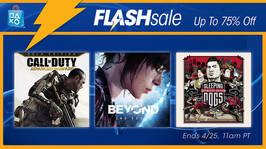 PS Store Flash Sale Brings Discounts On Some Great Games