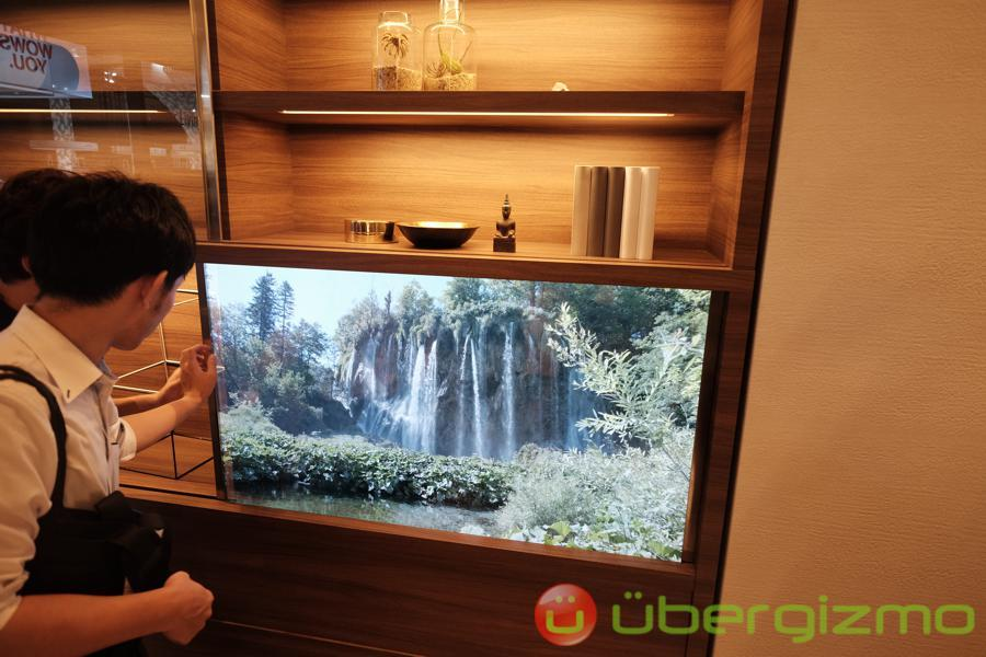 Panasonic's Transparent TVs Are Back, More See-Through Than Ever