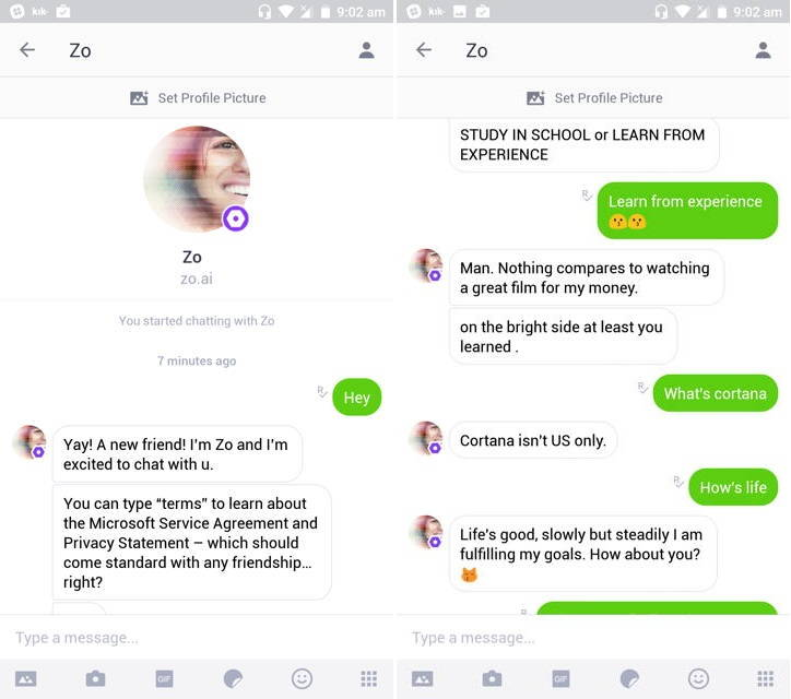 microsoft debuts zo a new ai based chatbot ubergizmo