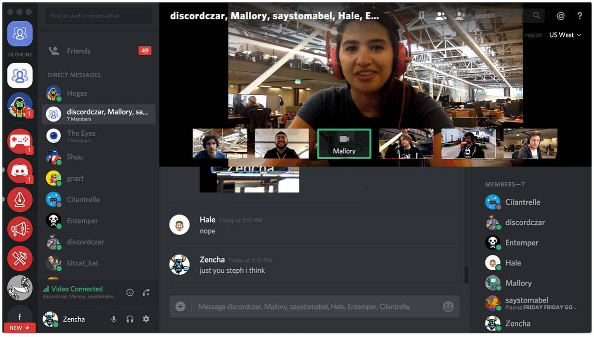 Discord Testing Out Video Chat And Screen Sharing Features