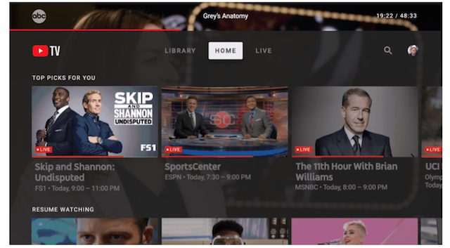 Youtube Tv App For Android Tv Apple Tv And Xbox One Launched