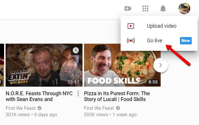 YouTube Now Lets You Stream Live From Desktop | Ubergizmo