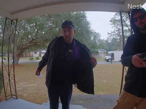 FedEx Delivery Driver Caught Tossing A $1,500 Camera Lens Onto The Ground